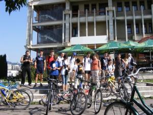 plecare Let's bike it, Baia Mare - Casa Tineretului
