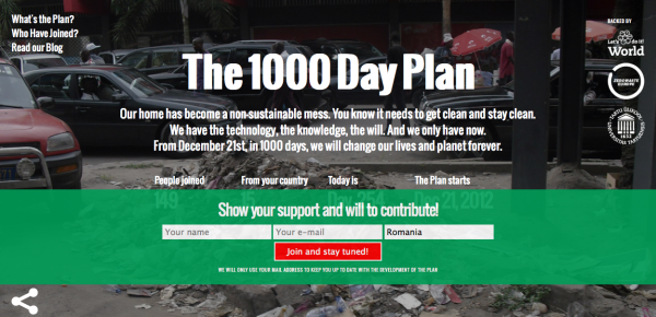The 1000 Day Plan
