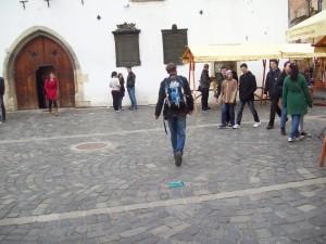 Flashmob Cluj Napoca, 9 apr 2012