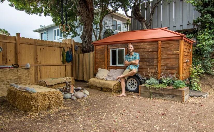 Un activist de mediu reușește să trăiască fără bani, doar din ce îi oferă natura