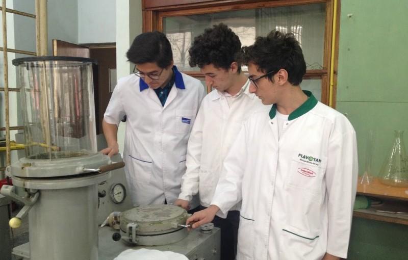 Trei elevi români au inventat dispozitivul care reciclează frunze uscate