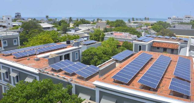 panouri solare scoala India