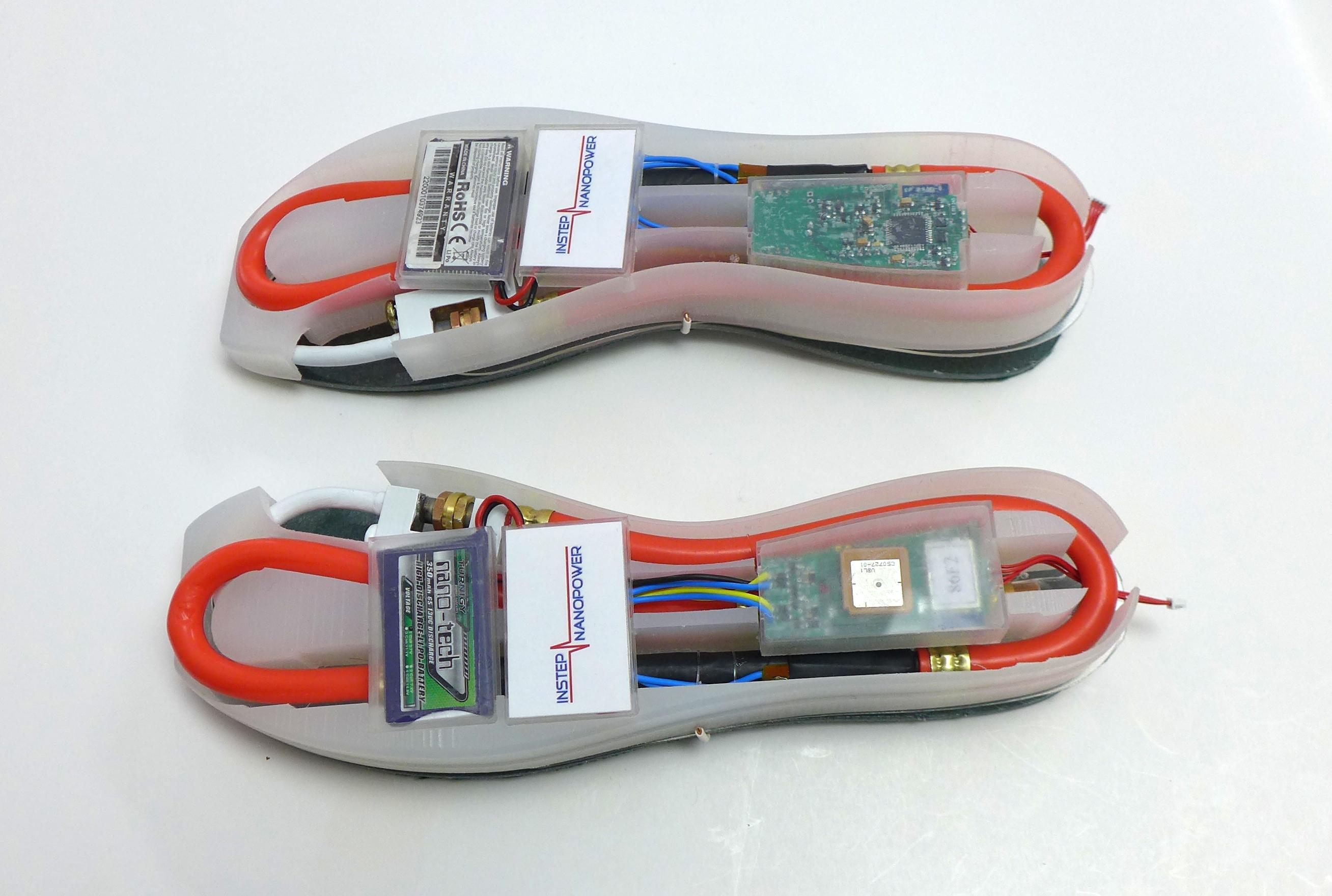 Pantofi care produc energie