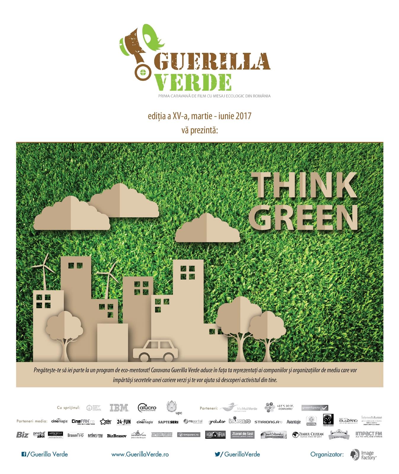 Guerilla verde_editia xv_poster_v